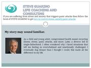 Steve Guarino - Control Stress & Anxiety  Cure Panic Attacks