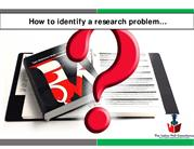 Ebook -How to identify a  research problem