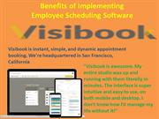 Benefits of Implementing Employee Scheduling Software.