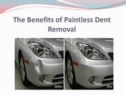 The Benefits of Paintless Dent Removal