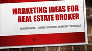 Remona Jabar - Marketing tips for successful real estate agent
