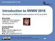 Introduction-to-IWMW-2016