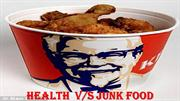 HEALTH AND JUNK FOOD