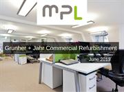 Grunher + Jahr Commercial Refurbishment | MPL Interiors Case Study