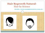 Hair Regrowth Natural- Hair by Science