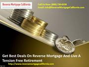 Best Deals On Reverse Mortgage San Diego And Los Angeles California