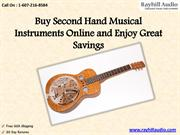 Buy Second Hand Musical Instruments Online and Enjoy Great Savings