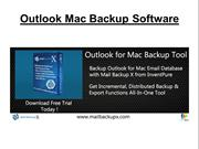 Outlook Mac Backup Software