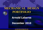 Mechanical Design Portfolio  - ARNOLD LABARES