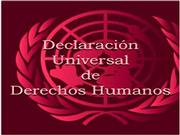Declaracion Derechos Humanos