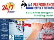 A-1 Plumbers-Fast 24 Hour Emergency Plumbing Service