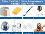 GLOBAL STORE SUPPLY INC - A Premier Importer of Retail Store Supply Pr