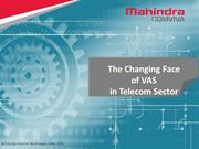 Changing Telecom trends with VAS- Value Added Services