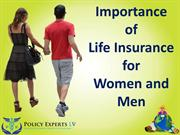 Importance of Life Insurance for Women and Men