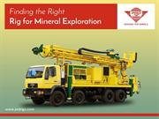 Choice of Rigs for Mineral Exploration
