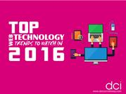 Top Web Technology Trends to Watch in 2016