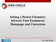 A Perfect Chemistry between Your Ecommerce Homepage and Conversion