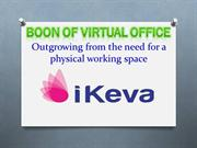 Boon of Virtual Offices – iKeva
