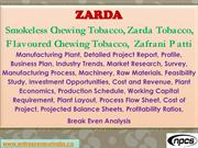 Zarda, Smokeless Chewing Tobacco, Zarda Tobacco, Zafrani Patti