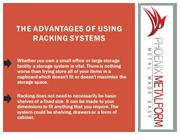 The Advantages of Using Racking Systems