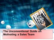 keon willabus The Unconventional Guide on Motivating a Sales Team