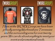 Fabulous Screen Printing Services in TN | WORX Group
