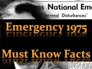 Emergency 1975 Must Know Facts