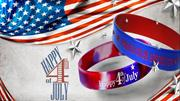 Unique Way to Celebrates Independence Day With Silicone Wristbands