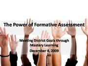 The Power of Formative Assessment 4
