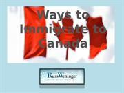 Ways-to-Immigrate-to-Canada