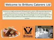 Welcome to Brittons Caterers Ltd