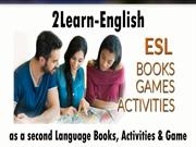 Materials For Teaching English As A Second Language ESL