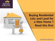 Are you Buying Residential Plots and Land for a New Home at Adibatla