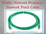 Winfys Network Products - Network Patch Cable