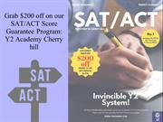 Grab $200 off for registration for our SAT/ACT Score Guarantee Program