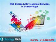 Professional Web Design and Development Service in Scarborough