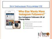 Buy Instagram Followers UK at Affordable Rates