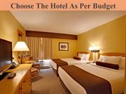Choose The Hotel As Per Budget