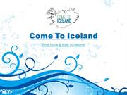 Come To Iceland- Day Tours