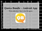 Quotes Bundle Android App Wide Collection of Quotes