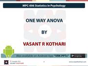 MPC-006 - 03-03 One Way Anova