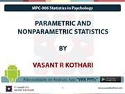 01_Parametric and Non-Parametric Statistics