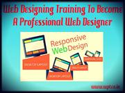 Web Designing Industrial Training to Become Professional Web Designing