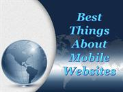 Best Things About Mobile Websites - Tony Semadeni