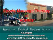 Sports Massage Therapy at HOMMS