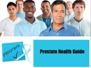 Prostate Health Guide