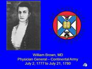 Meet Physician General William Brown MD v5