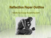Reflection Paper Outline