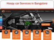 Hoopy car Services in Bangalore