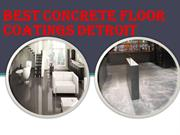 Best Concrete Floor Coatings Detroit